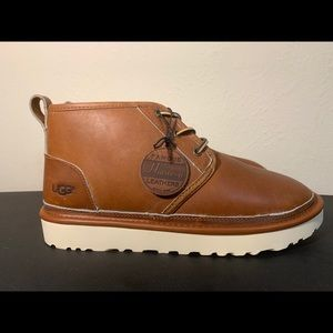 UGG NEUMEL PINNACLE HORWEEN LEATHER CHUKKA BOOTS